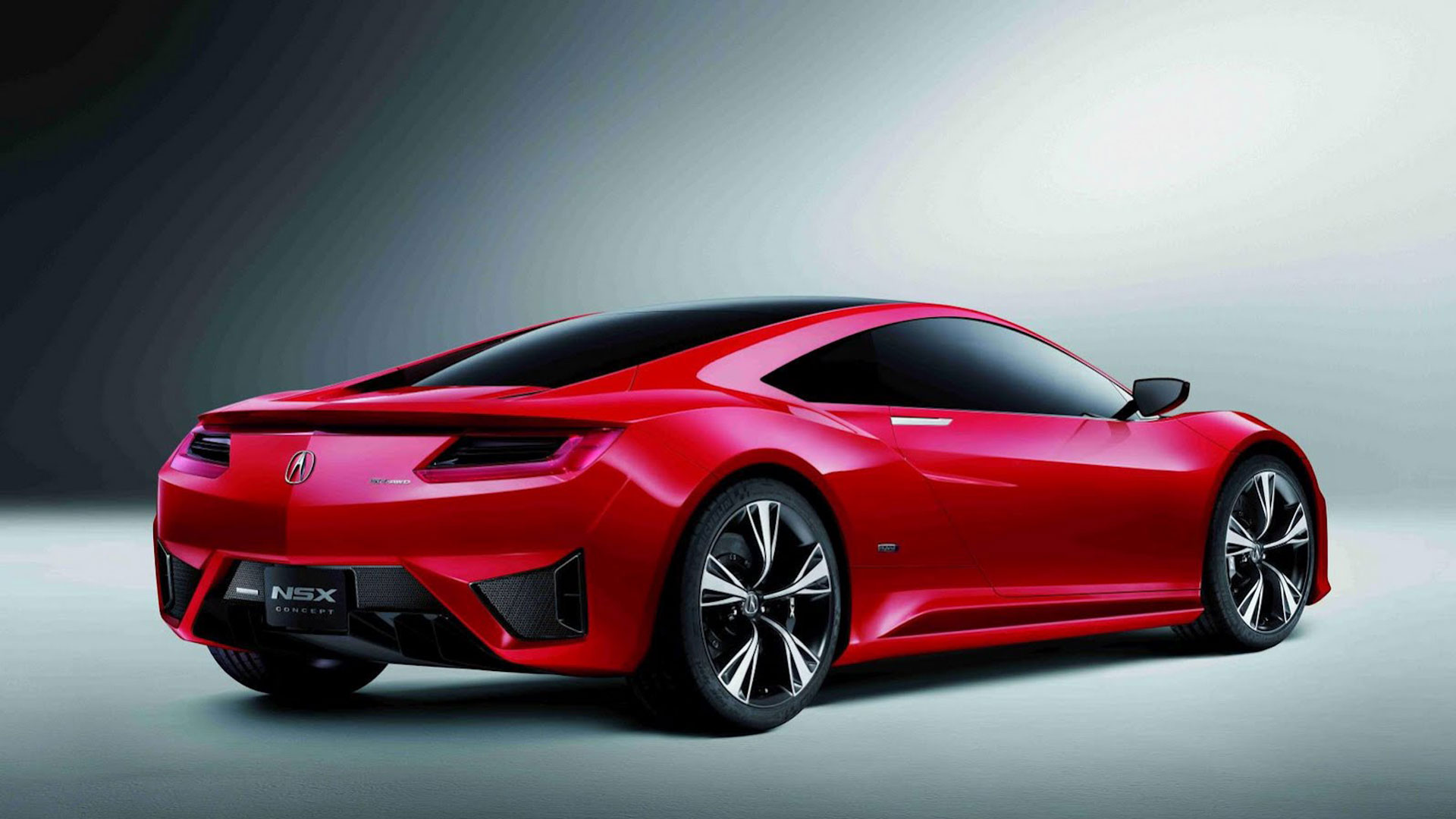 Acura NSX Red Modification Cars Wallpaper