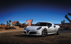 Alfa Romeo 4C Wallpaper PC