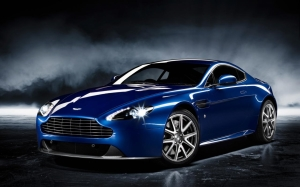Aston Martin Wallpaper Blue Costom Cars