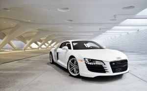 Audi R8 Wallpaper White HD 2015