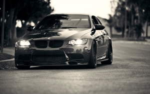 BMW Grayscale Wallpaper M3 Photos