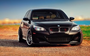 BMW M5 Costom Black Wallpaper