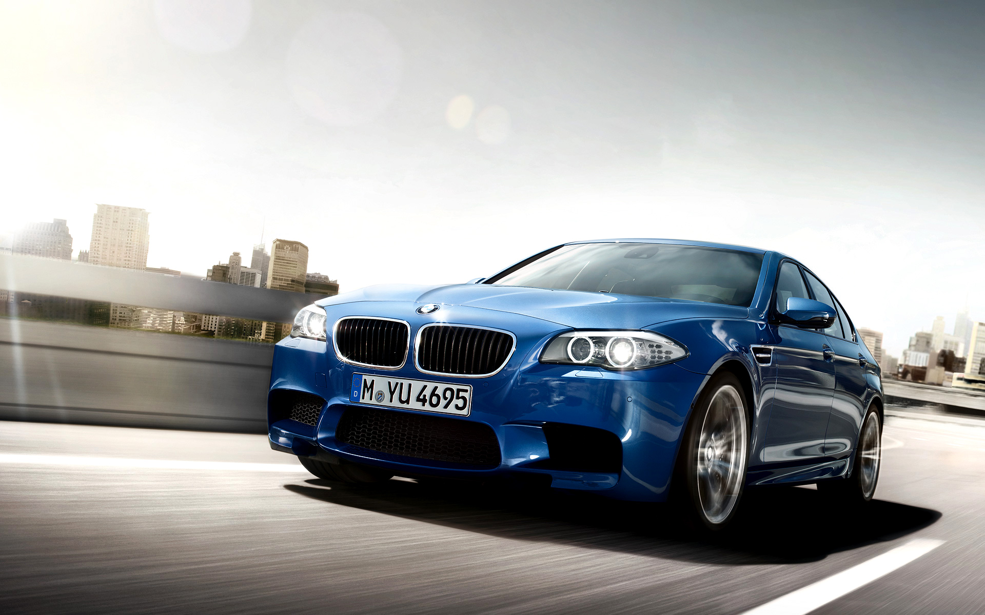 BMW M5 Wallpaper Image Picture