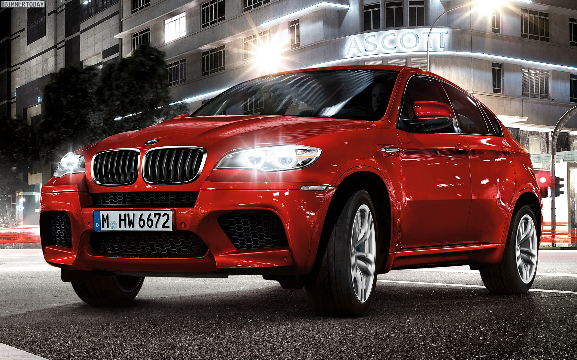 BMW X6 Wallpaper 1920×1200