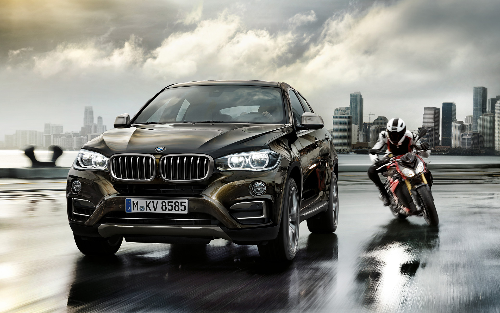 BMW X6 Wallpaper Widescreen Cars
