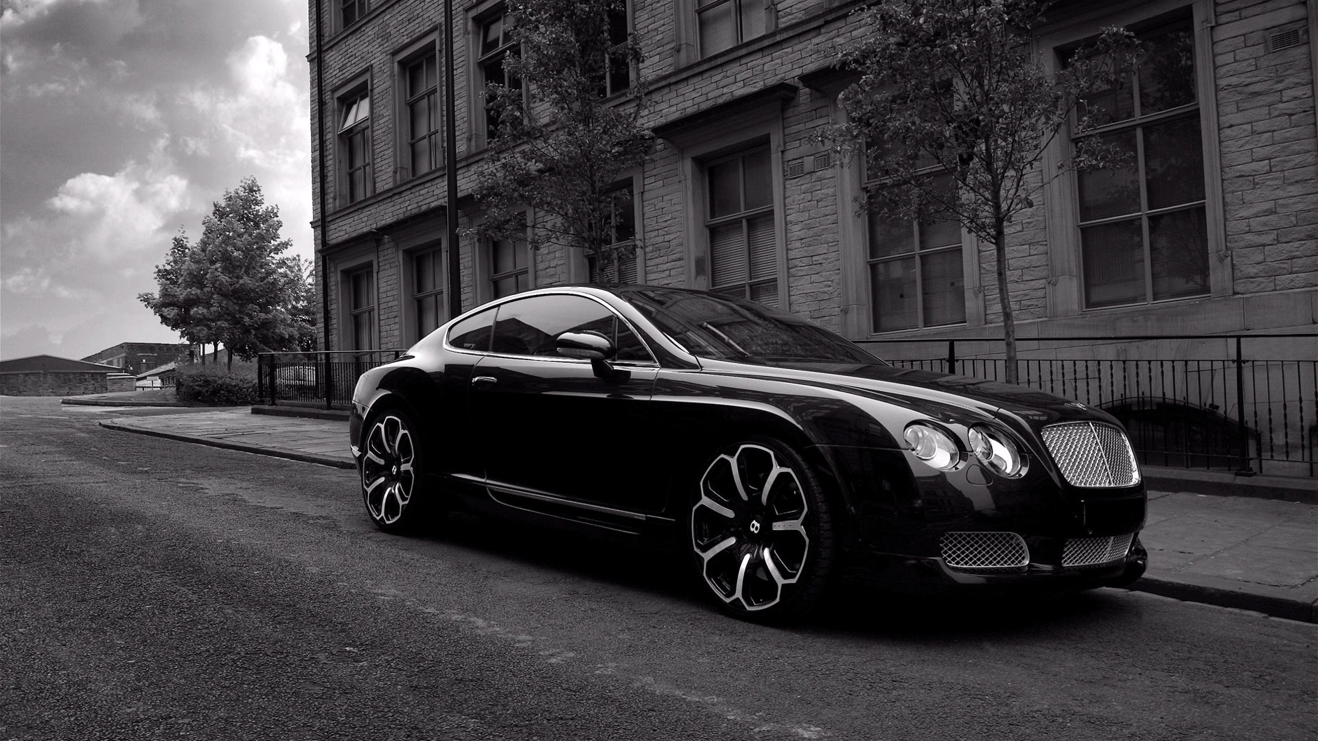 Bentley Wallpaper Black Color Cars
