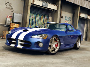 Blue Cars Costom Wallpaper Widescreen