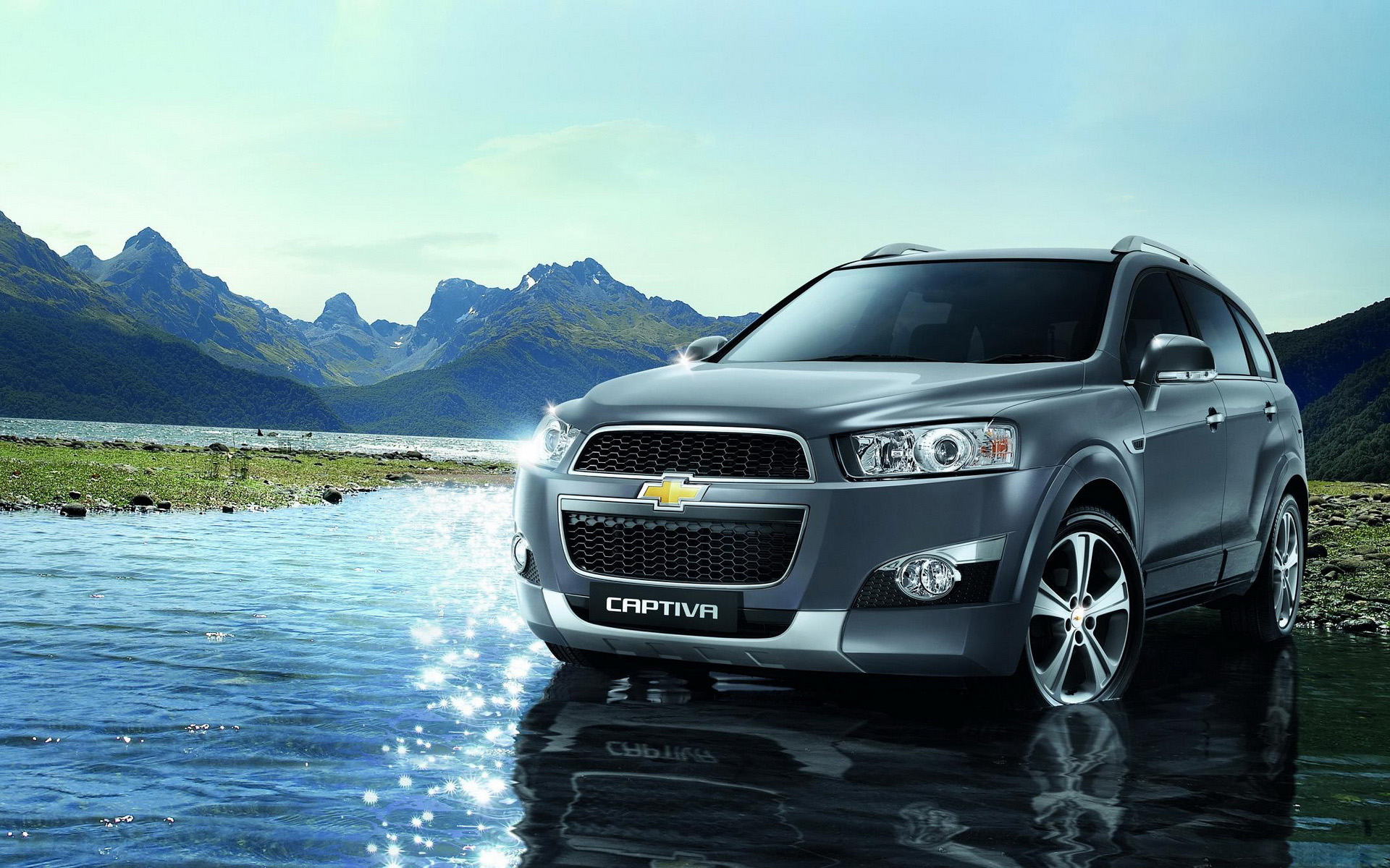 Chevrolet Camaro Captiva Wallpaper