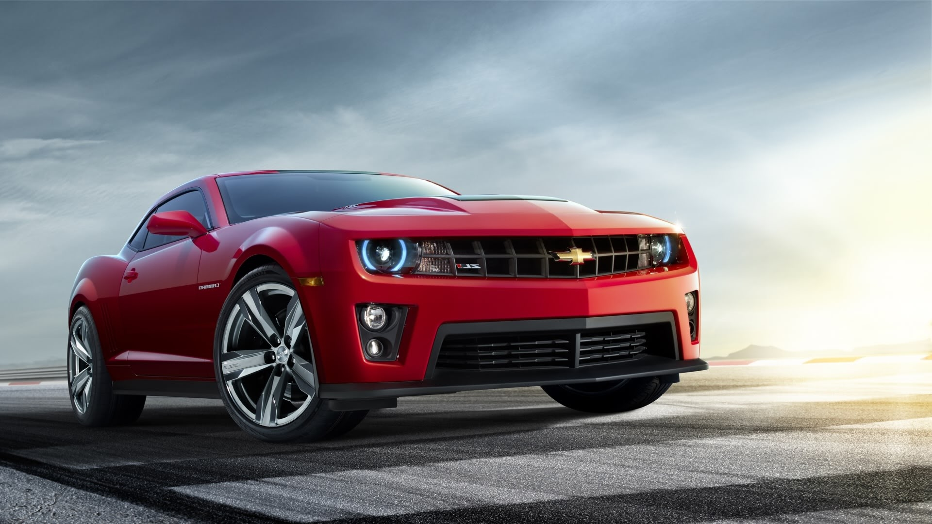 Chevrolet Camaro Red Wallpaper High Def