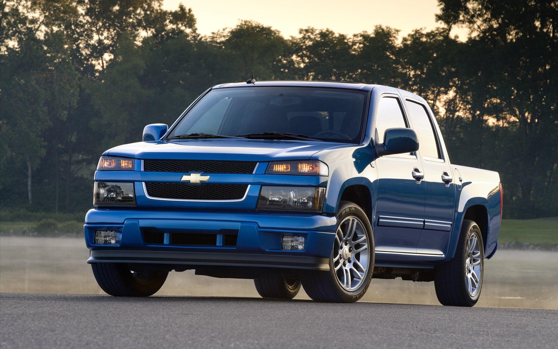 Chevrolet Colorado Blue Wallpapers