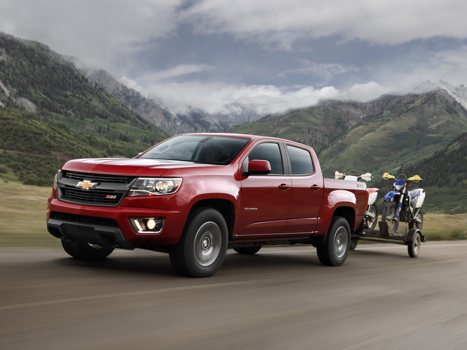 Chevrolet Colorado Wallpaper Fullscreen HD