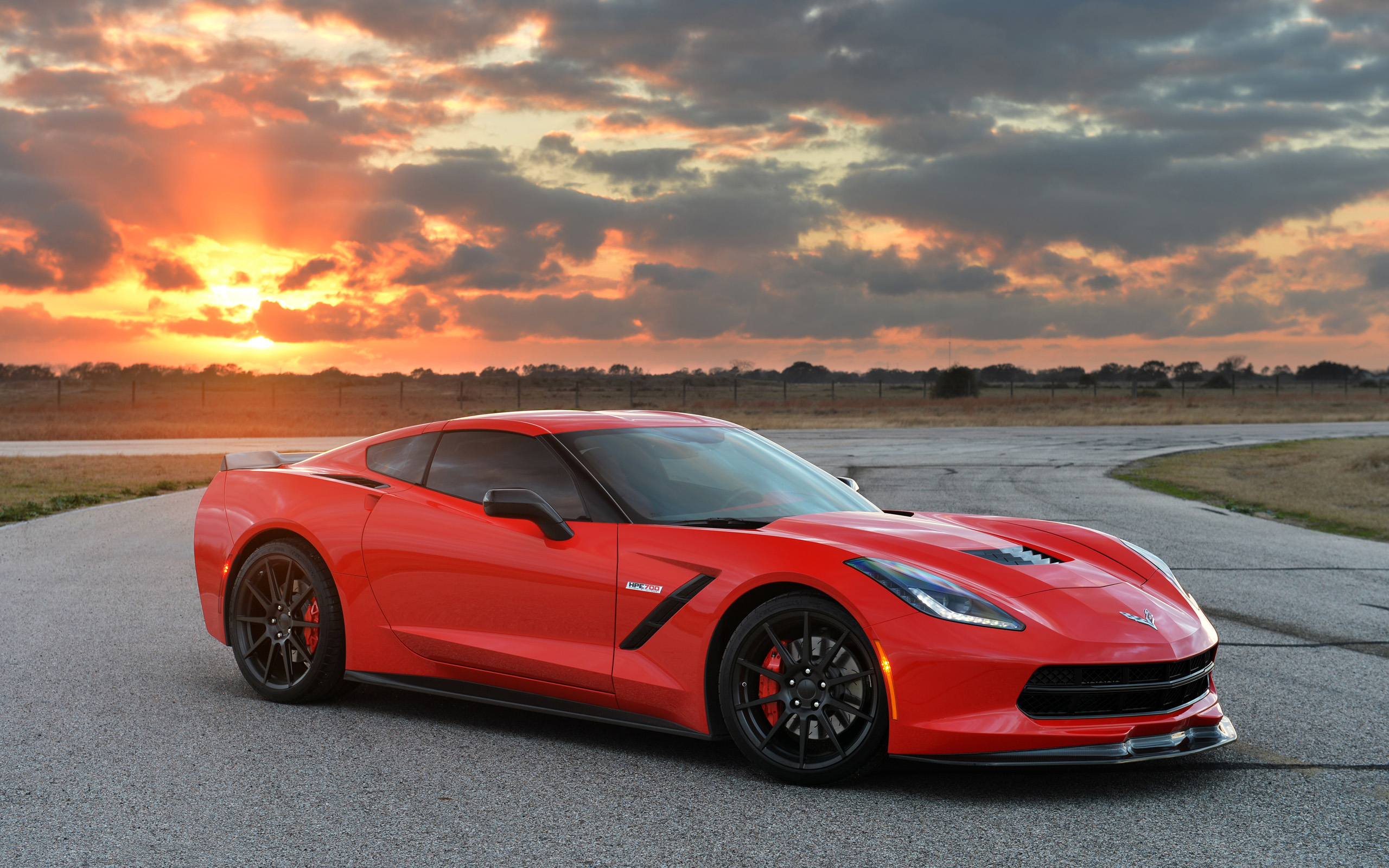 Chevrolet Corvette Stingray With Turbo Wallpaper