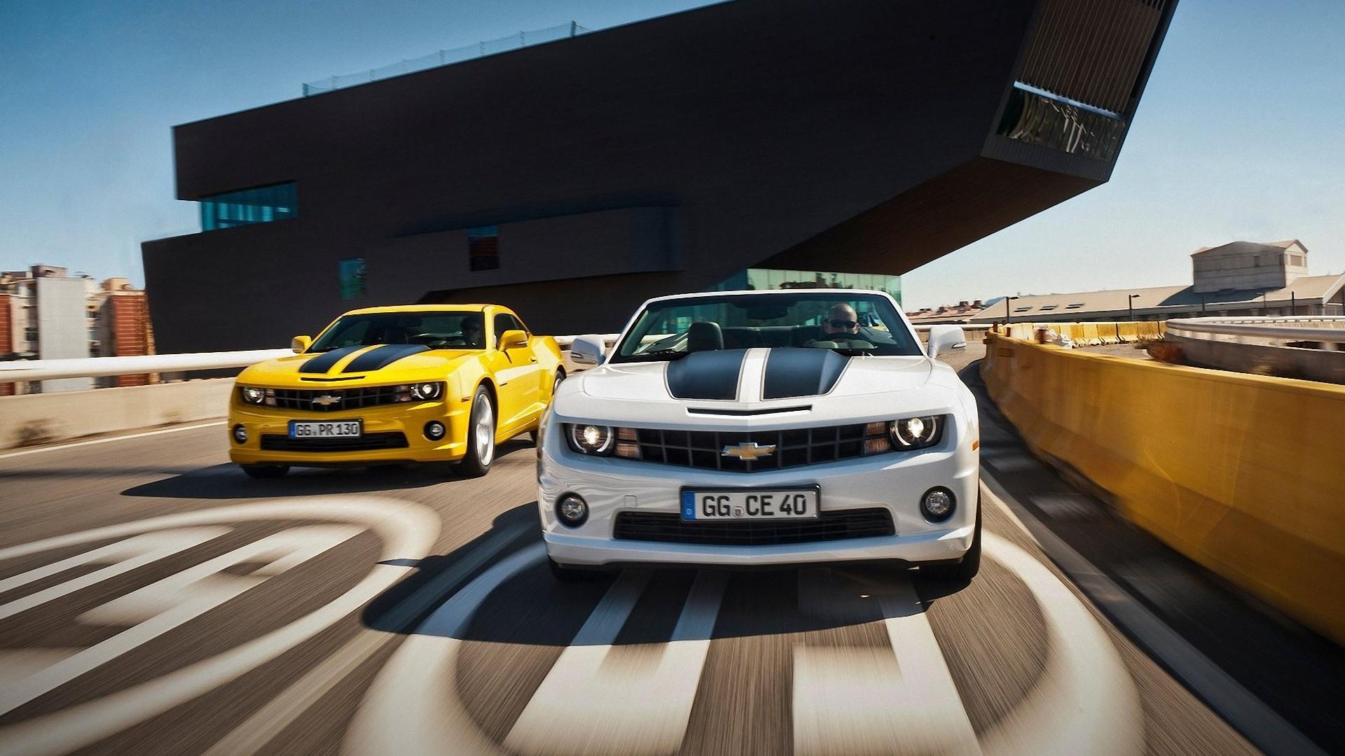 Chevrolet Racing Cars Wallpaper Fullscreen