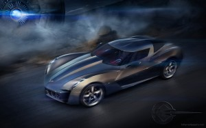 Chevrolet Stingray Wallpaper Concept