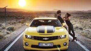 Chevrolet Wallpaper Camaro Yellow Cars