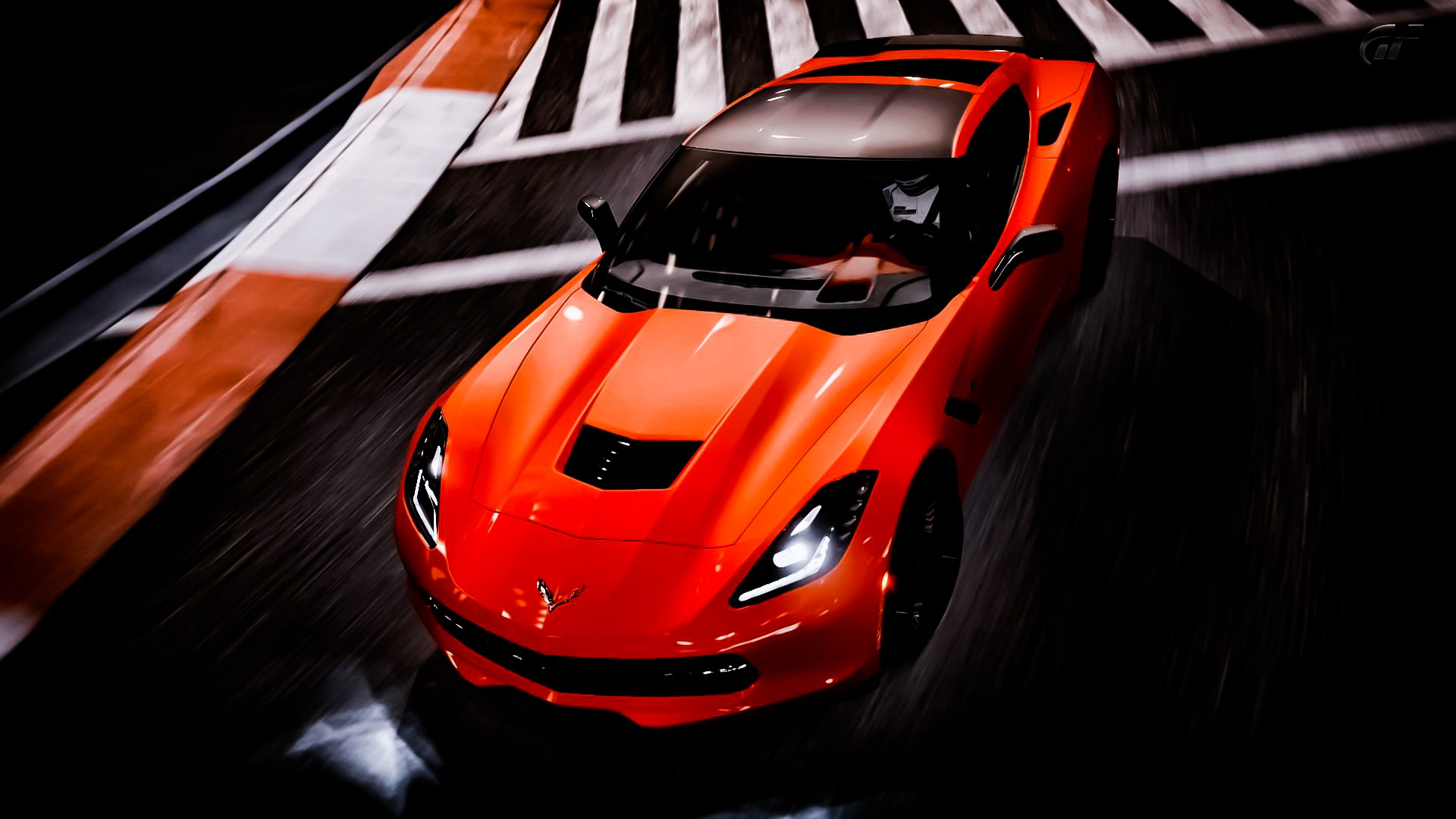 Corvette Stingray Wallpaper 3D