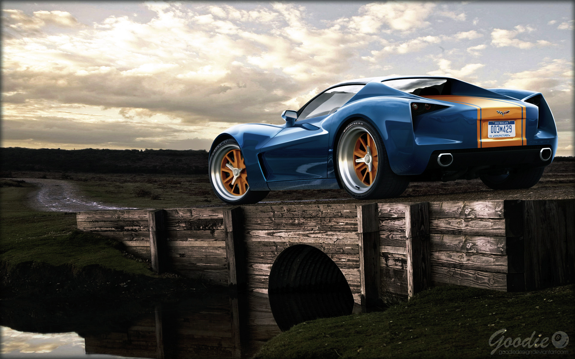 Corvette Stingray Wallpaper Full Desktop