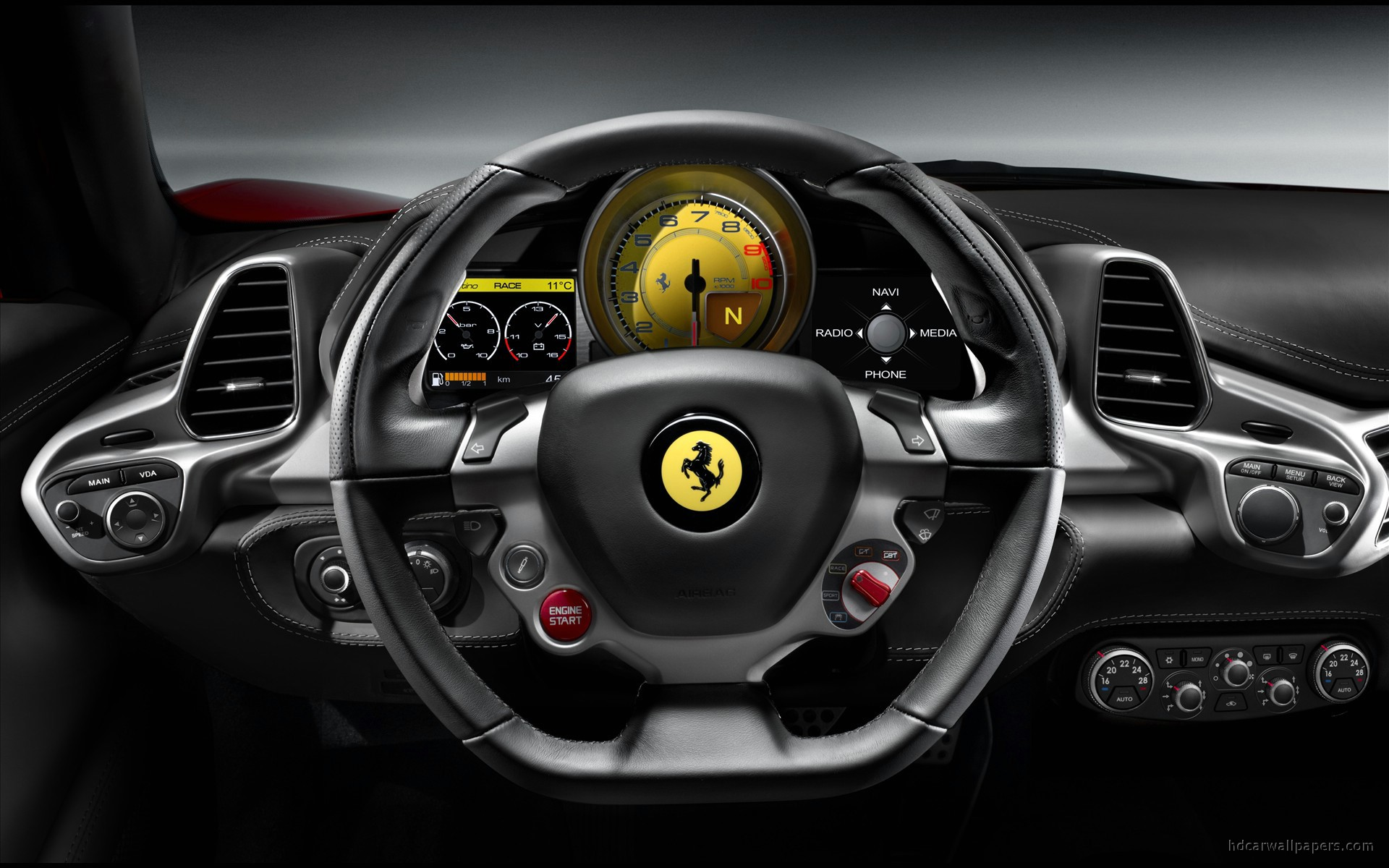 Ferrari Interior Cars Wallpaper Photos