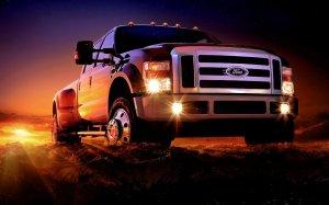 Ford Duty Pickup Wallpaper HD Desktop