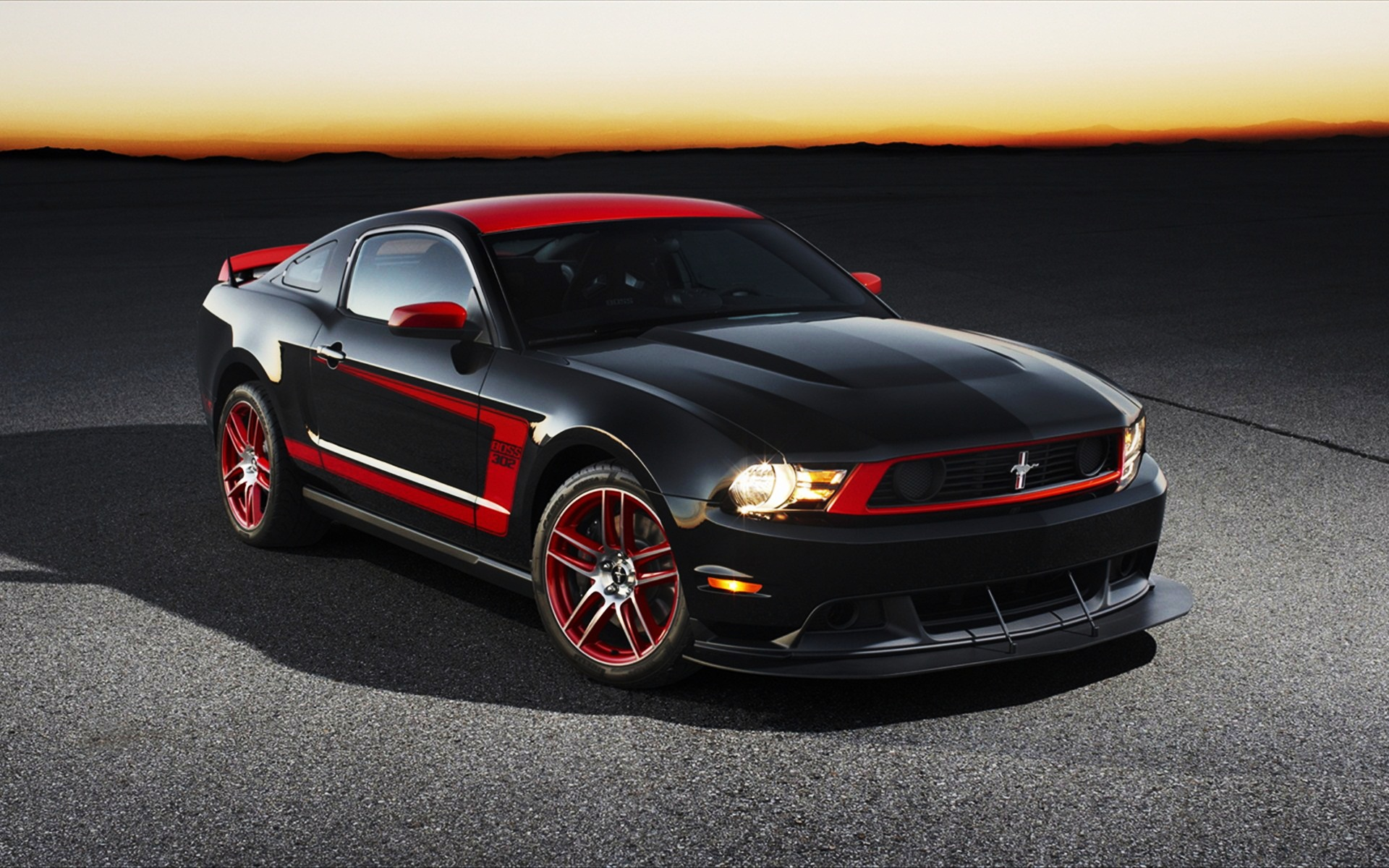 Ford Mustang Black Wallpaper High Res