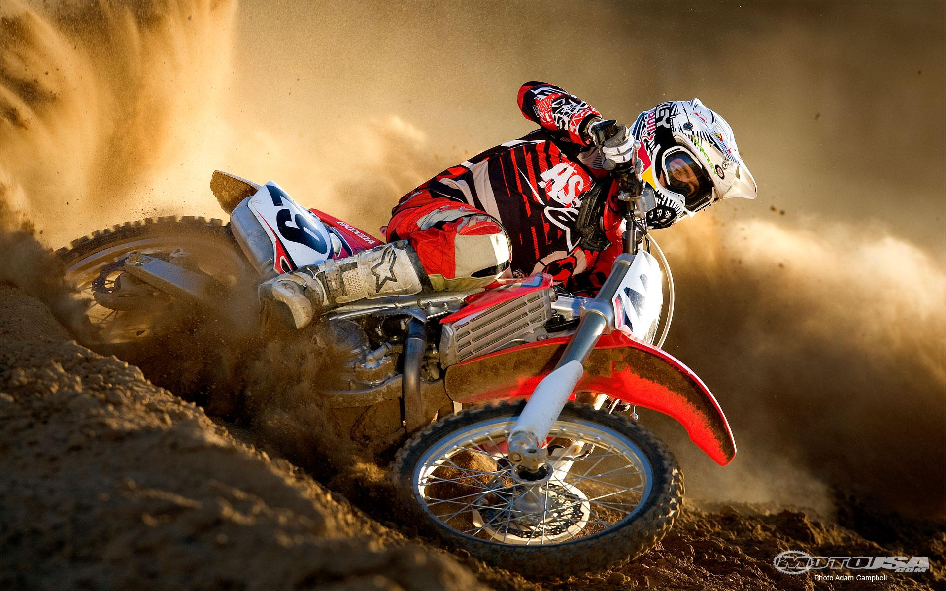 Honda 450 Motocross Wallpapers HD
