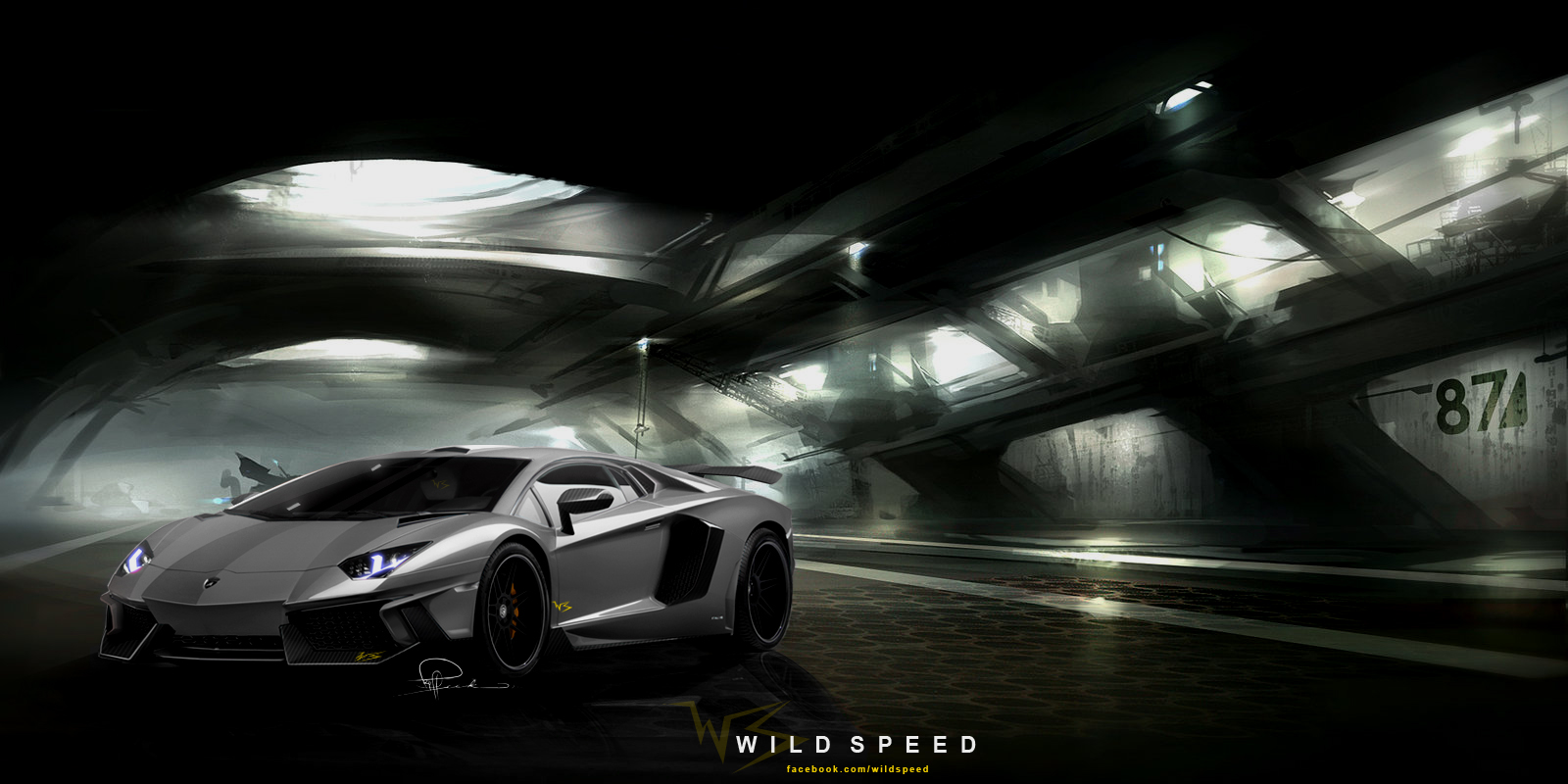 Lamborghini Aventador Wallpaper Widescreen PC