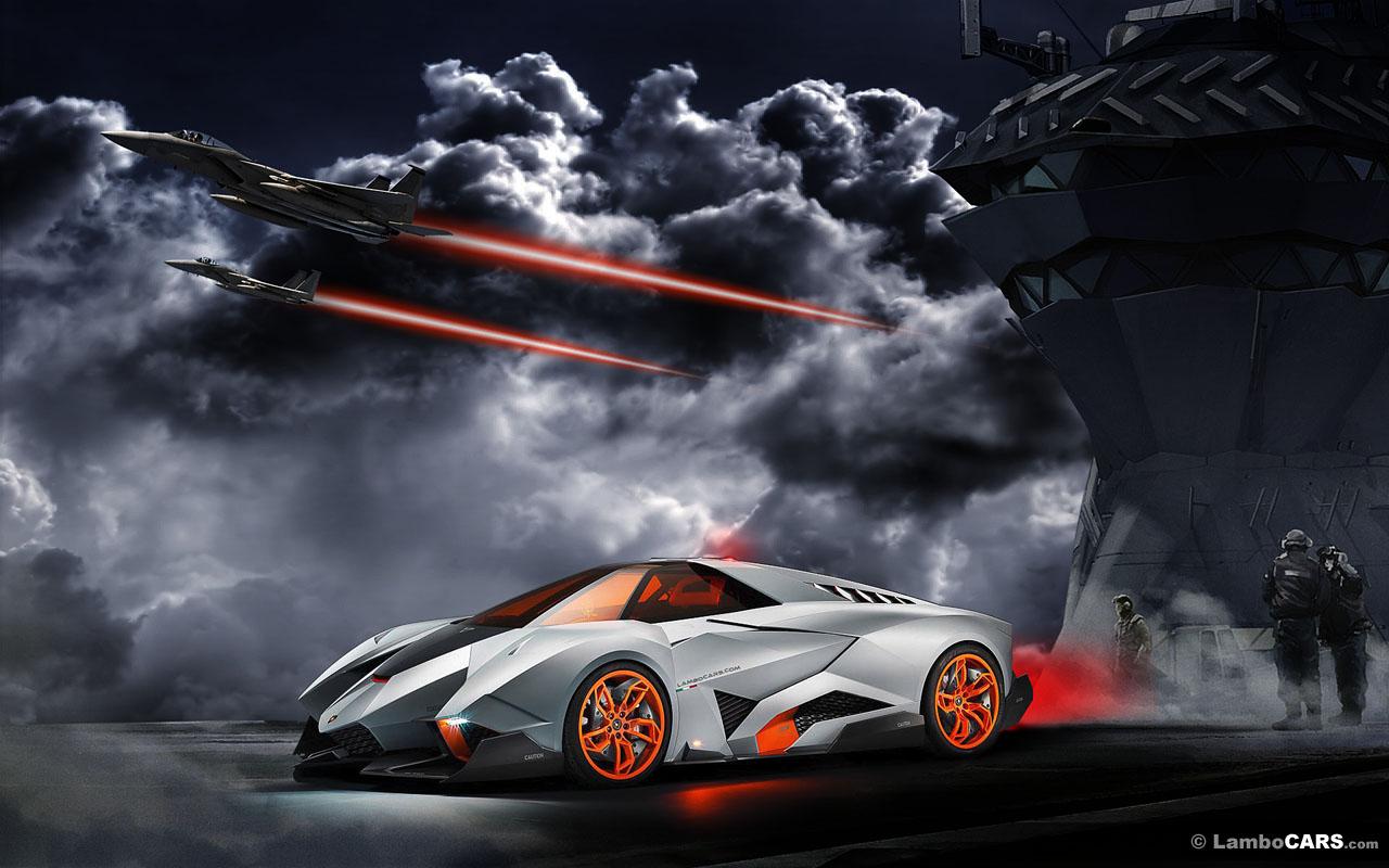 Lamborghini Egoista Wallpaper HD