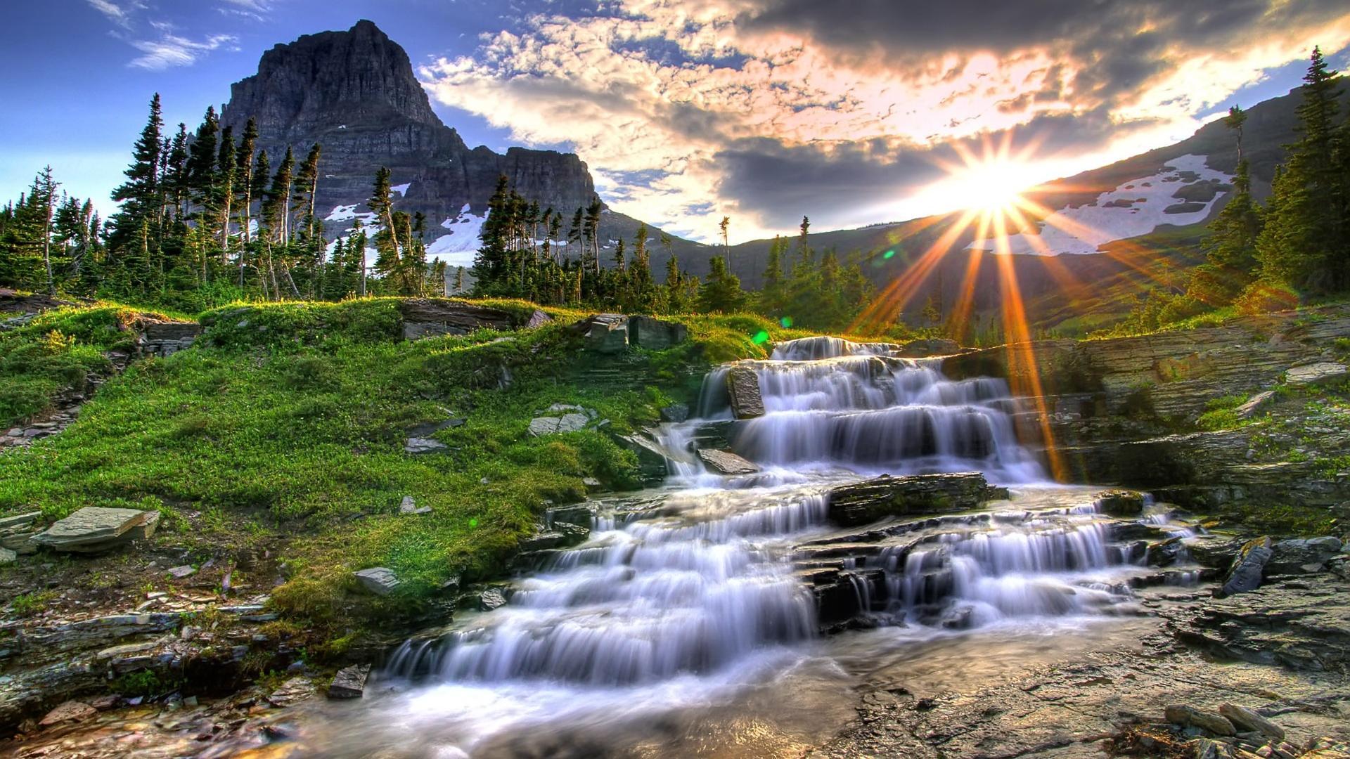 Landscape Wallpaper Waterfall HD