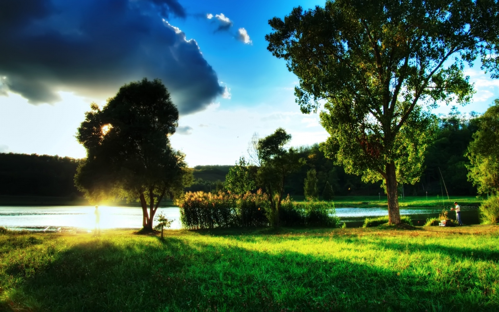 Lovely Wonderful Landscape Wallpaper