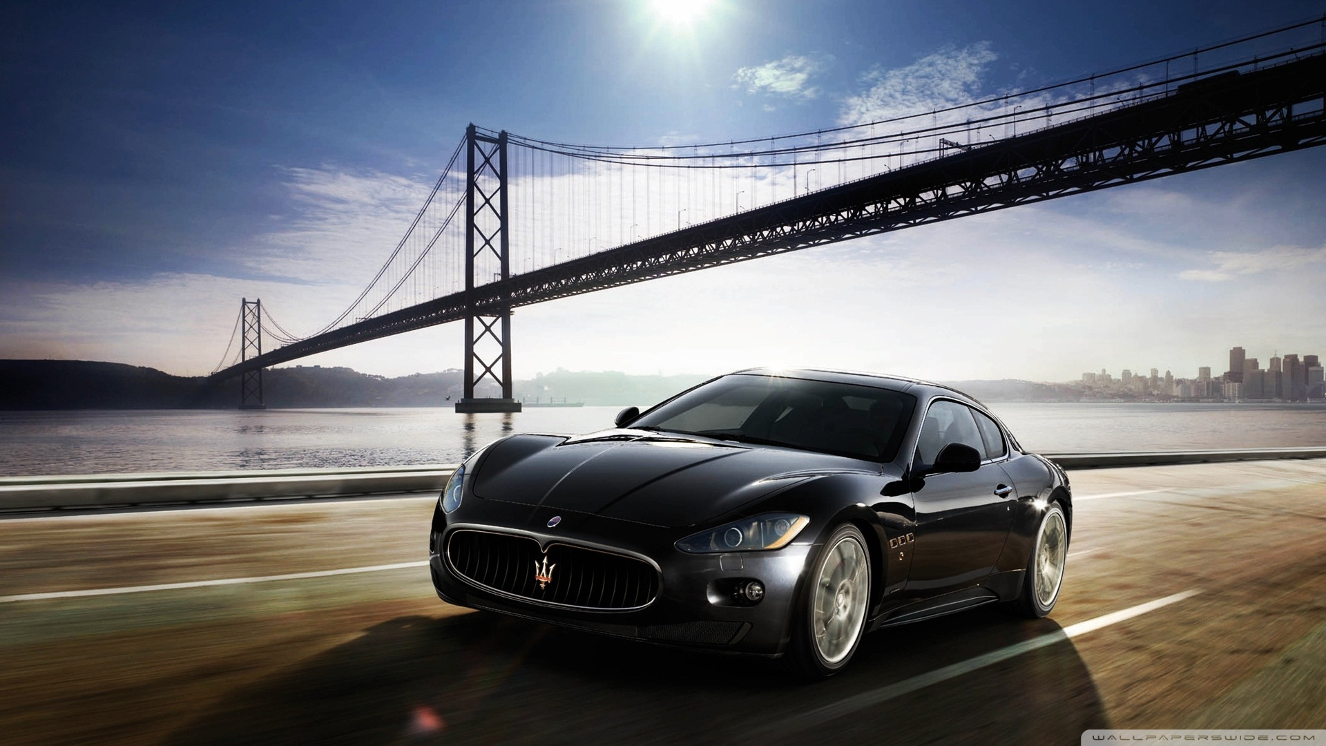 Maserati Granturismo Wallpaper In Games