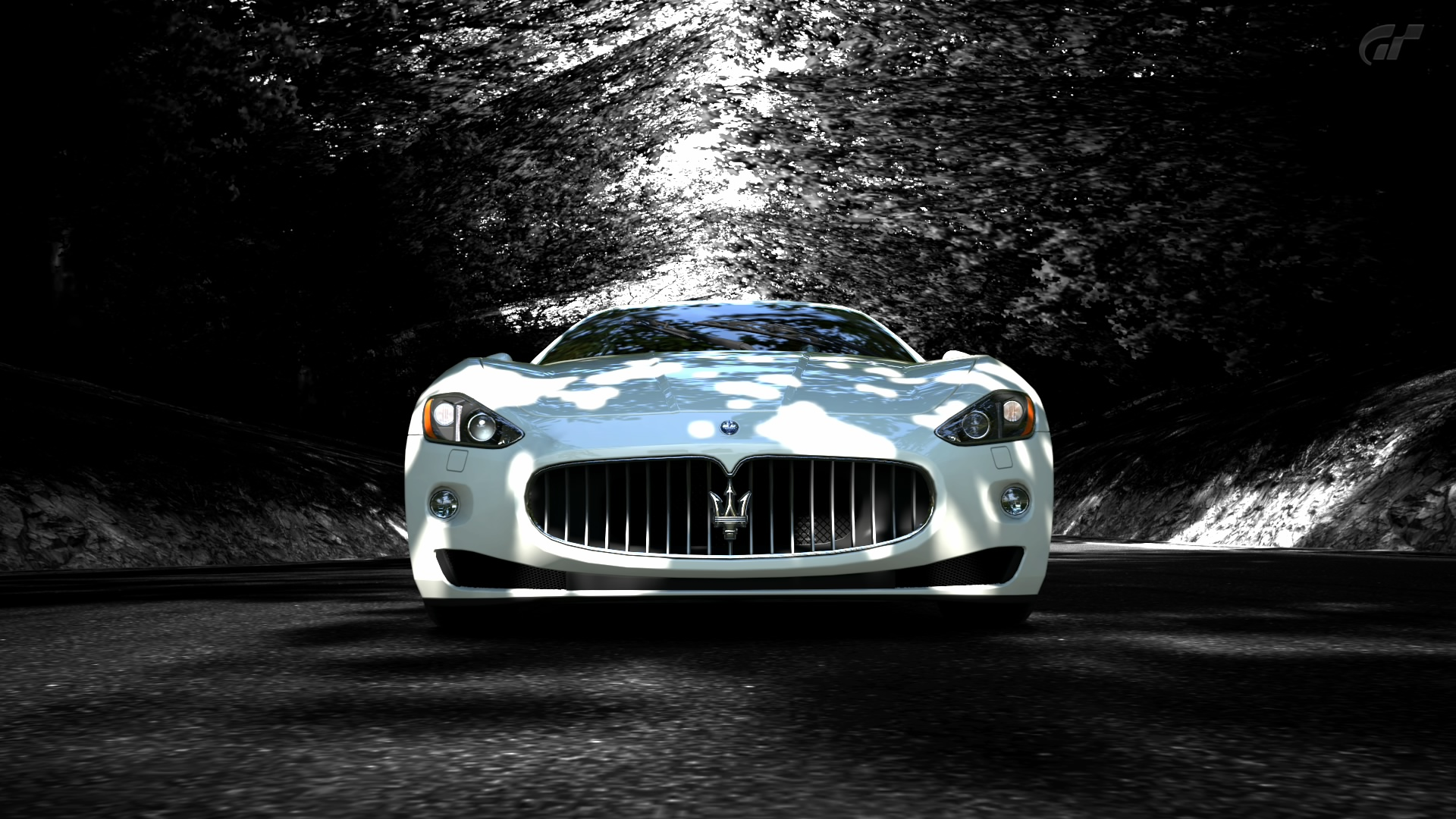White Maserati Wallpaper Picture Downl0ad