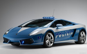 Modification Wallpaper Polizia Cars