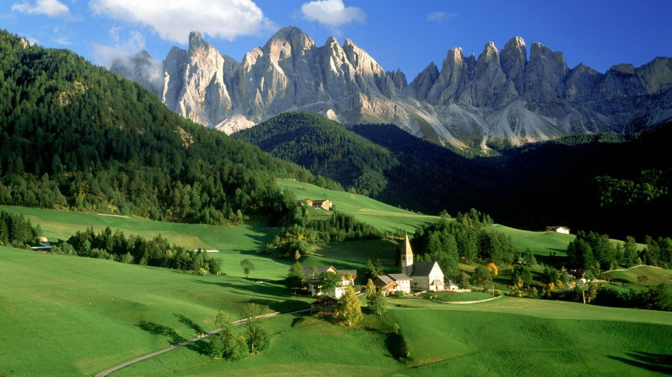 Landscapes Wallpapers Mountain Landscape Wallpaper