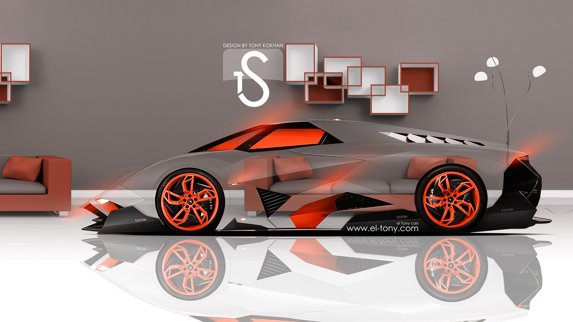 Neon Lamborghini Wallpaper Egoista 3D #1460 Wallpaper ...