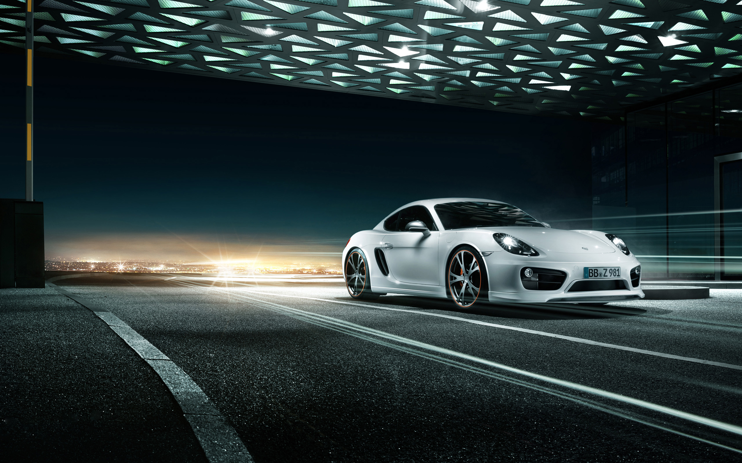 Porsche Cayman Wallpaper HD