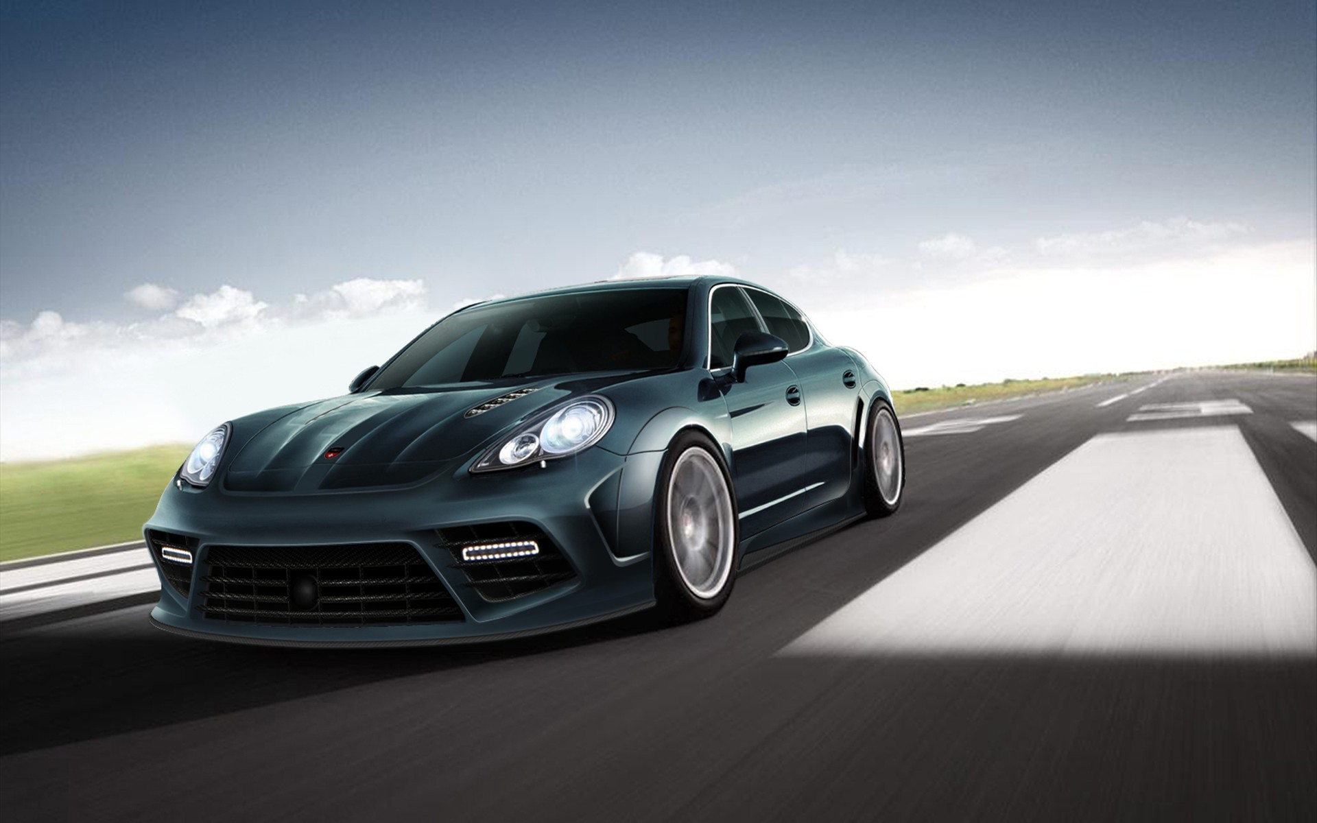 Porsche Panamera Wallpaper HD Desktop