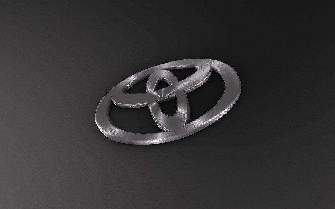 Toyota Logo Wallpaper HD