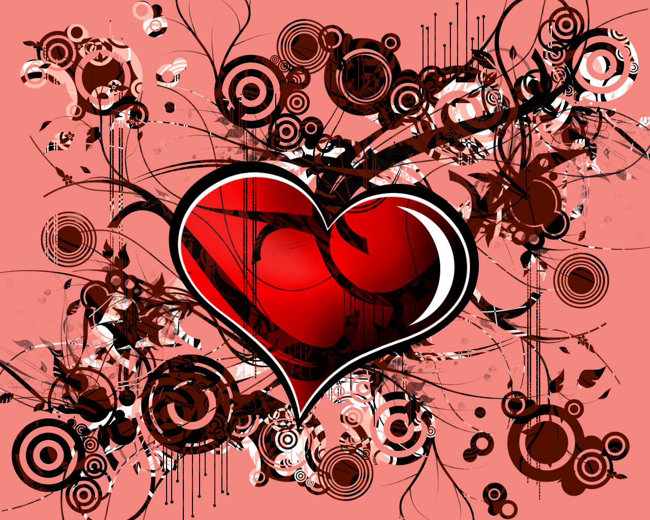 Abstract Love Wallpaper Free Download
