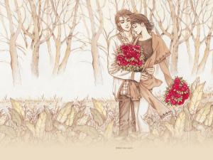 Art Wallpaper Couple Romantic