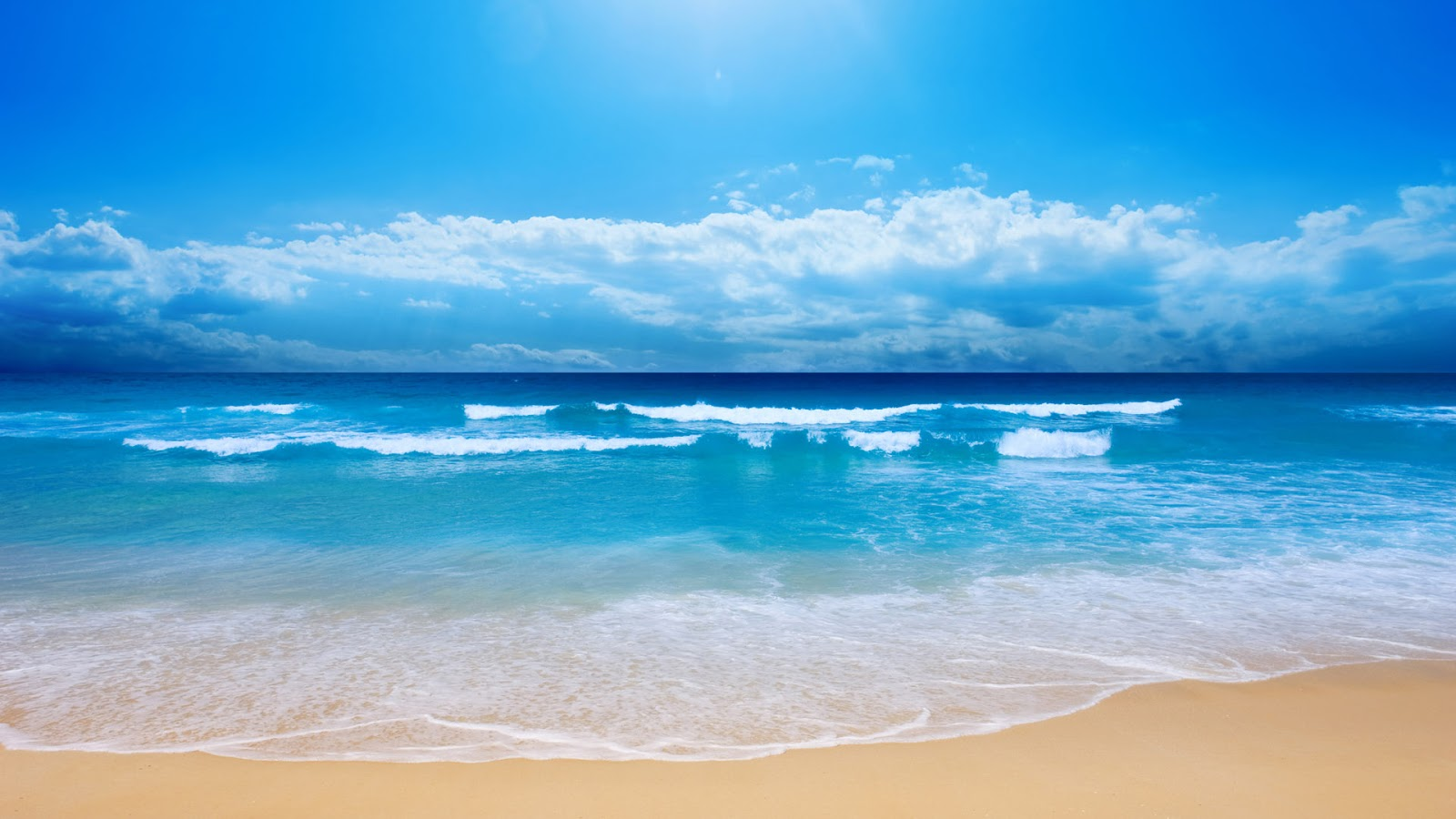 Beach Sea Sand Wallpaper Android