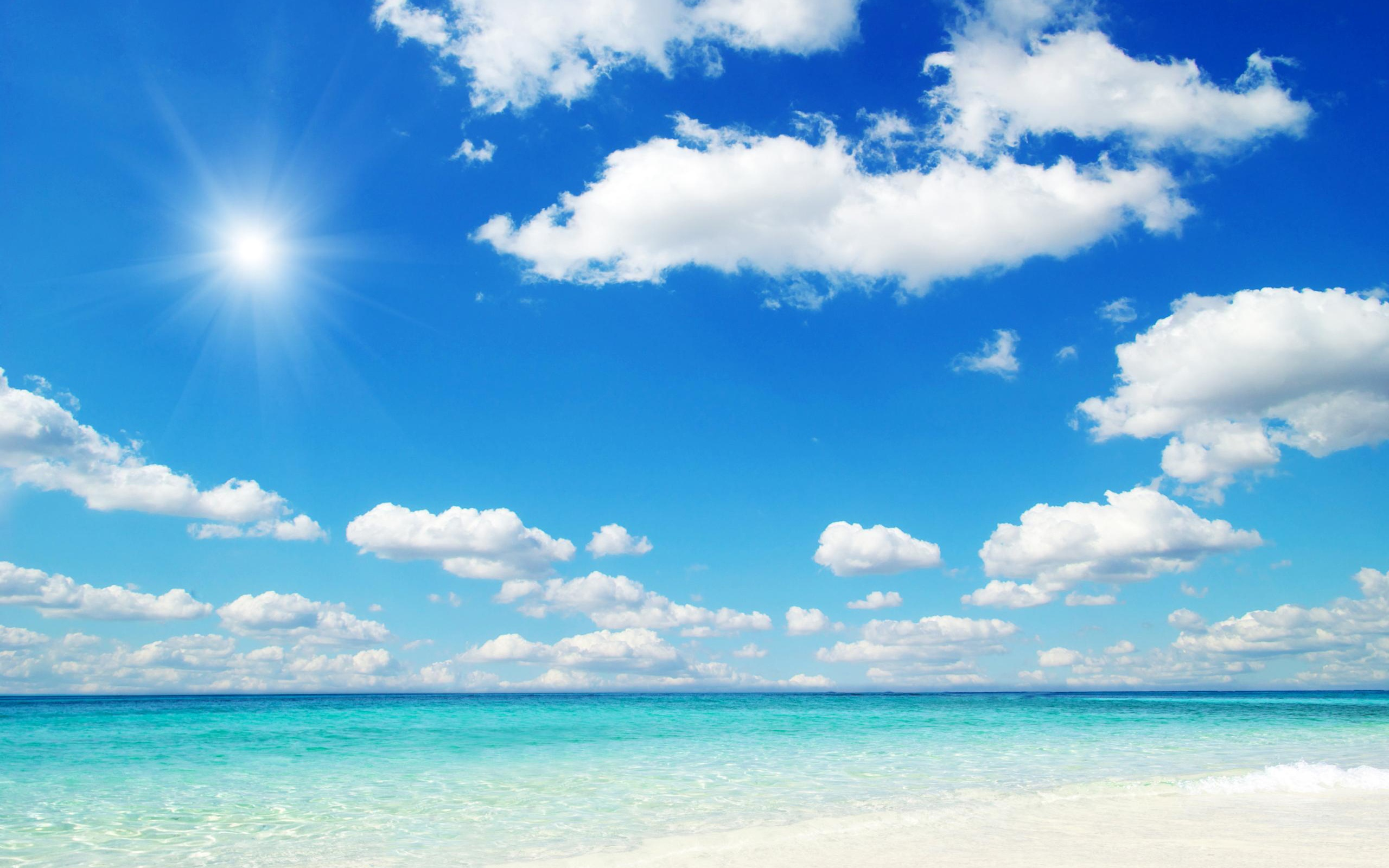 Beach Wallpaper Widescreen Awesome