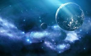Blue Nebula Wallpaper 2560x1600