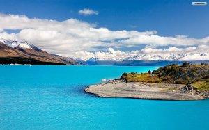 Blue Sea Wallpaper Landscape Amazing