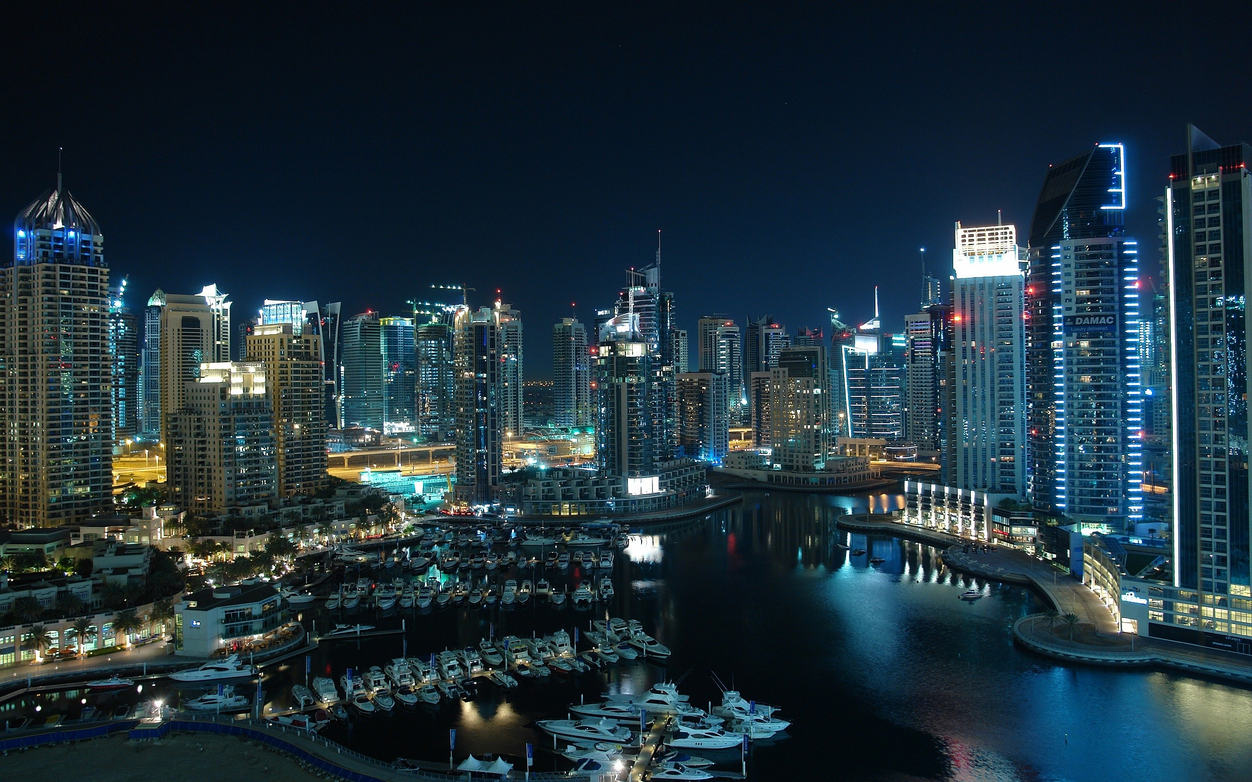 City Dubai Wallpapers 2560x1600 #3785 Wallpaper