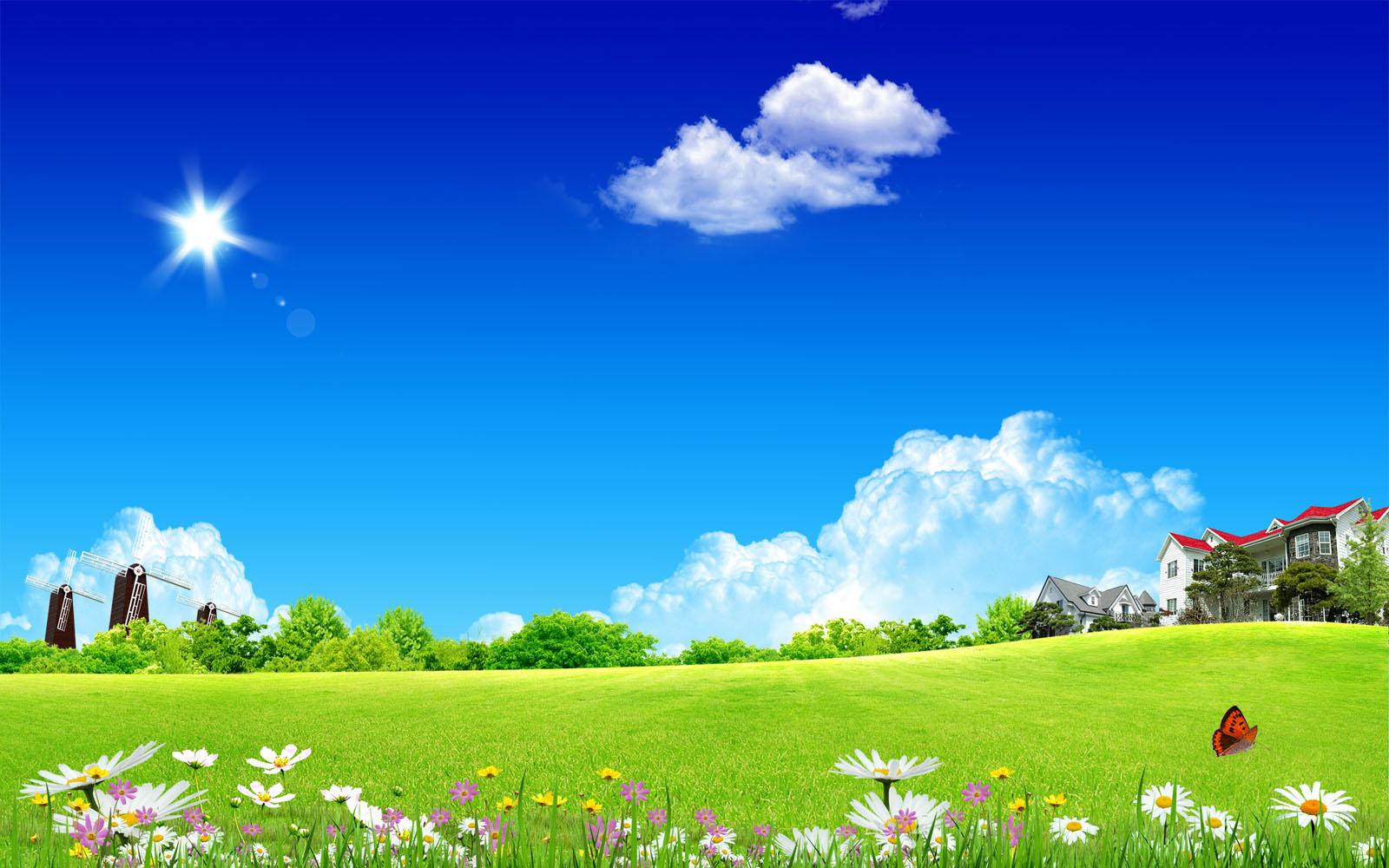 Clean Sky Wallpapers HD