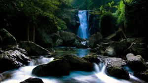 Cool Nature Wallpaper Waterfall