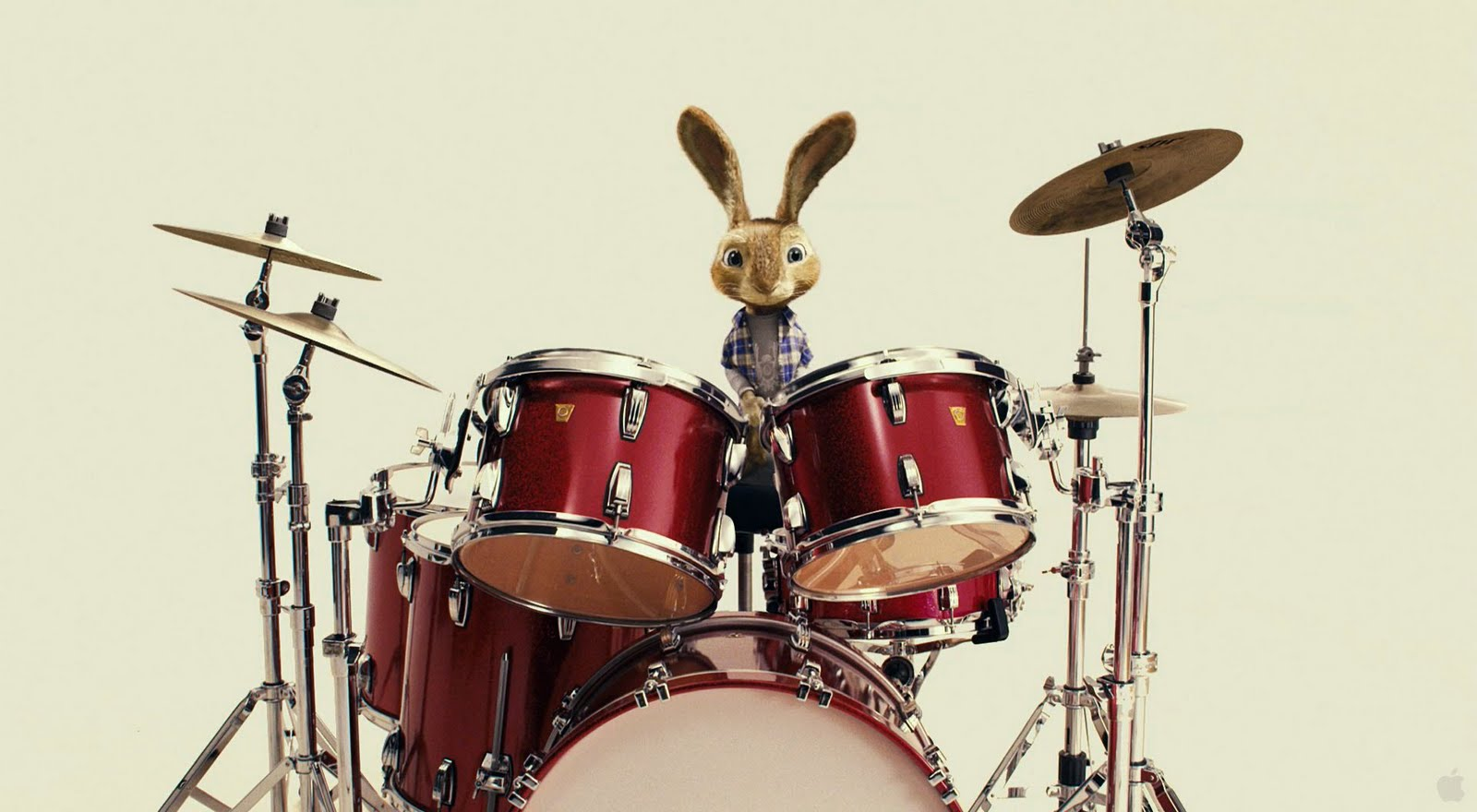 Easter Bunny Wallpaper Desktop Drums