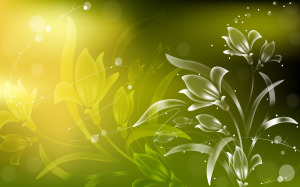 Green Abstract Wallpaper Image Pics
