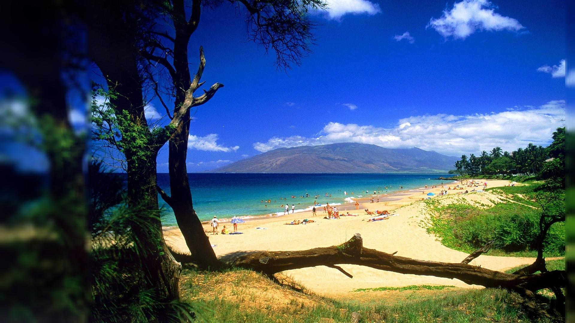 High Resolution Beautiful Beach Wallpaper