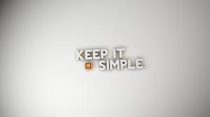 Keep Simple Wallpaper Free Download